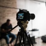 Filming worship for livestream at Bethel Church in Austin, TX.